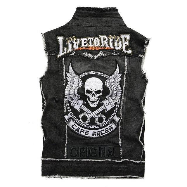 Fashion Streetwear Men's Vest