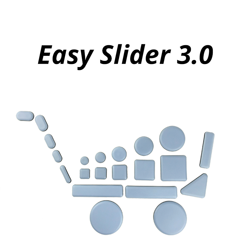 Magic Floor Protector for Scratch Furniture Chair Pad Round Easy Sliders Glides Seat Leg Protectors