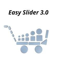 Magic Floor Protector per mobili antigraffio cuscino per sedia Round Easy Sliders scivola protezioni per gambe del sedile cuscinetti per piedi in gomma