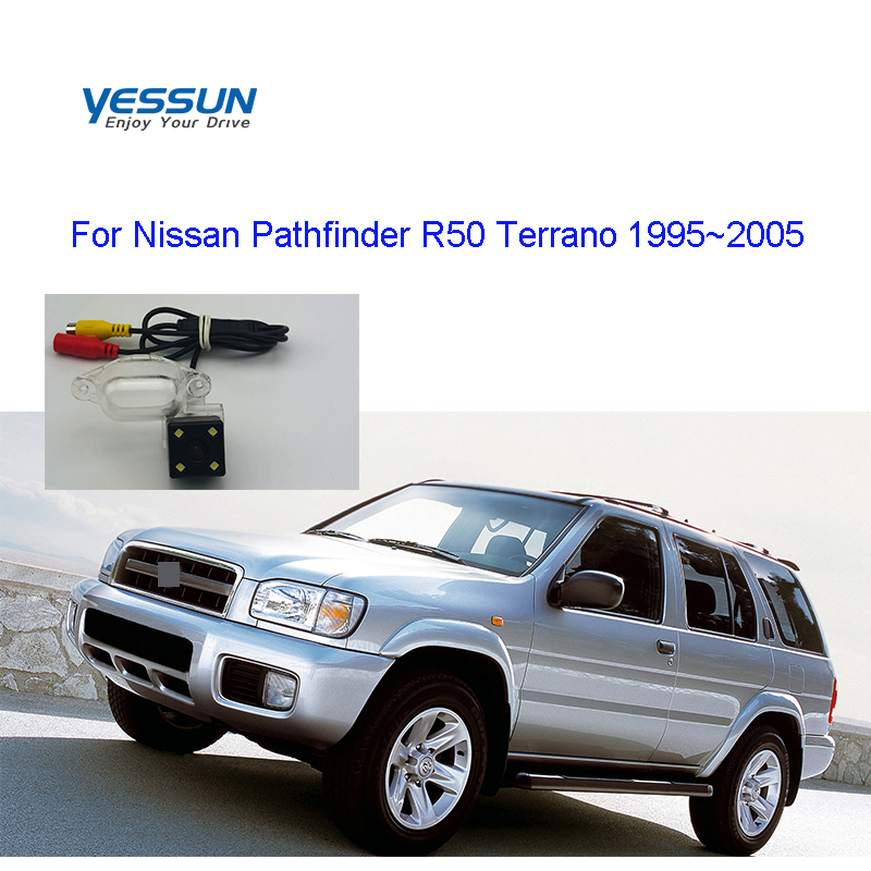 Yessun Car Rear View Camera  IP67 For Nissan Pathfinder R50 Terrano 1995 1996 1997 1998 1999 2000 2001~2005 For Nissan Terrano