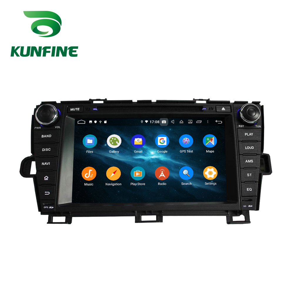 Android 9.0 Octa Core 4GB RAM 64GB Rom Car DVD GPS Multimedia Player Car Stereo for Toyota PRIUS 2009-2014 Left Radio WIFI