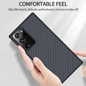 Image 2 - GRMA Echt Reine Carbon Faser Abdeckung Für SAMSUNG Hinweis 20 S20 Ultra Fall Ultra Dünne Für Samsung Galaxy S10 S9 hinweis 10 Plus Lite Fall