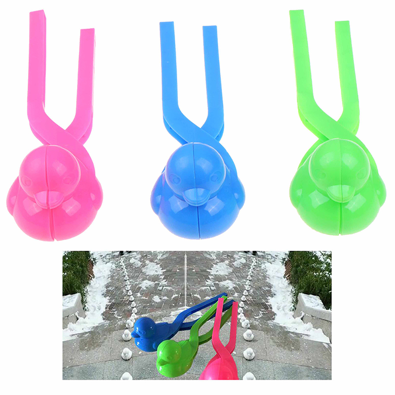 Cartoon Lovely Duck Shaped Snowball Maker Clip Children Outdoor Winter Snow Sand Mold Tool Creative Outdoor Fun & Sports
