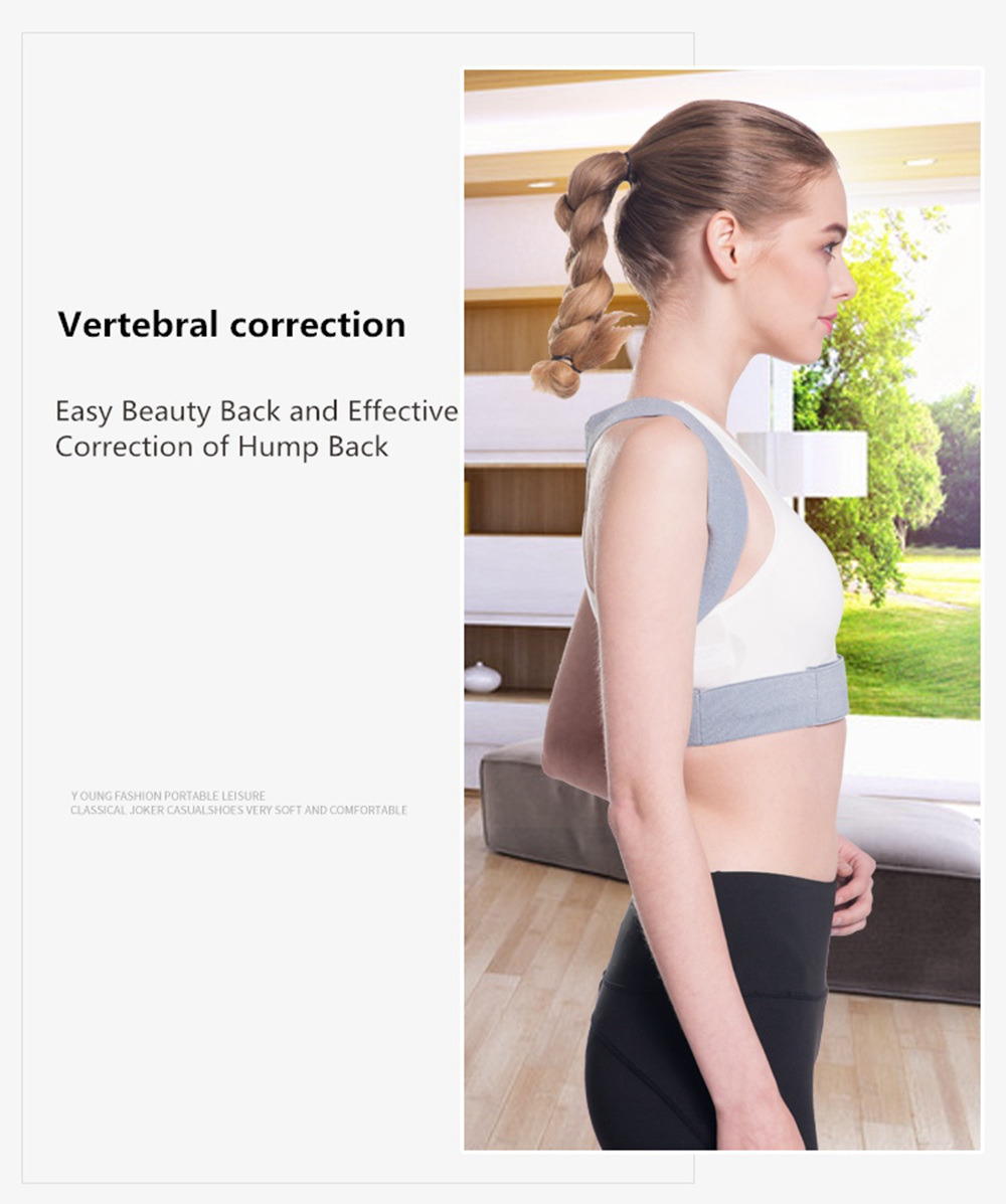 Adjustable Posture Corrector Belt for Clavicle and Spine Support Helps to Relief Back Pain Suitable for Unisex 11