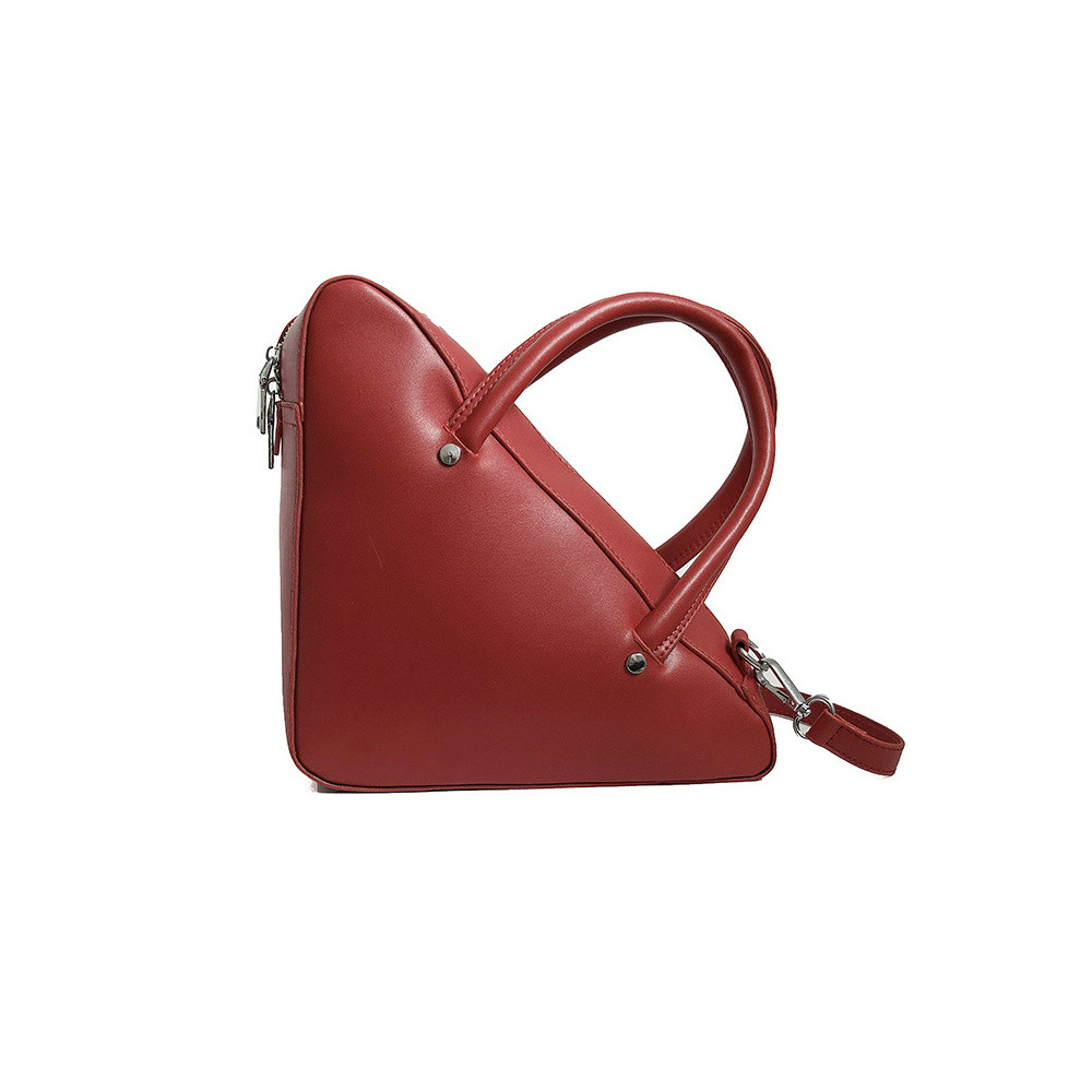 2019 New Korean Chic Fashion Simple Letter Personality Triangle Bag Hand Strap Shoulder Messenger Bag