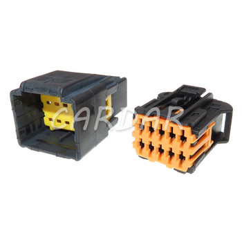 1 Set 10 Pin 98823-1011 Electrical Automotive Wire Harness Connector For Chevrolet Peugeot image
