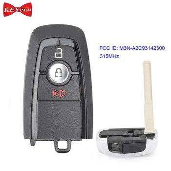 KEYECU OEM для Ford Edge Ecosport Explorer F-150 F250 F350 Fusion пульт дистанционного управления автомобильный брелок 315 МГц M3N-A2C93142300