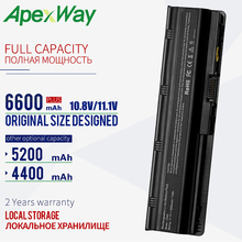 Apexway 6CELLS Battery For hp pavilion g6 battery G4 G6 G7 G62 G62T G72 MU06 HSTNN-UBOW Presario CQ42 CQ56 CQ62 apexway 6 cells laptop battery for hp pavilion g6 dm4 dv3 dv5 dv6 dv7 g32 g42 g6 g56 g62 g72 mu06 mu09 hstnn ub0w hstnn cbow