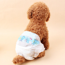 10 Pcs Disposable Dog Diapers Super Absorbent Pet Training Pee Pad Diaper Female Male Cleaning Supplies D35