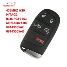 цена на Kigoauto M3N-40821302 Smart Key 5 button 434Mhz for Jeep  Grand Cherokee 2011 2012 2013 2014 2015 2016 2017