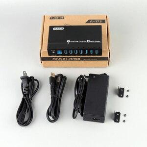 Image 5 - 2019 חדש הגעה דגם 7 יציאת USB 3.0 סופר מהירות רכזת עם חכם טעינת יציאת Sipolar יצרנים