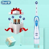 الأصلي عن طريق الفم B فرشاة أسنان كهربائية بالموجات الصوتية تبييض الأسنان norecharge الدورية الترا سونيك التلقائي استبدال رؤساء النظافة