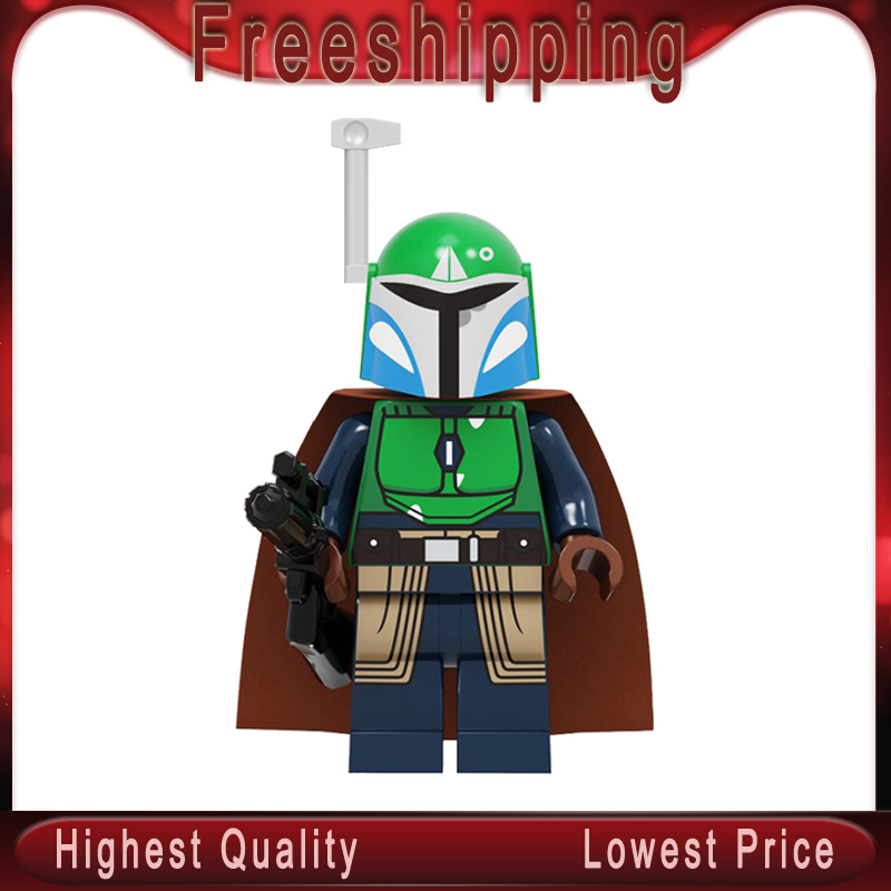 Legoed Star Wars Building Blocks Zakus Bounty Hunter Ella Secure Bai Li Mandalorian Model Figures Toys Children Gifts PG2238