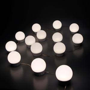 Image 5 - Led 5 v usb 化粧鏡電球ハリウッドバニティライト無段階調光可能な壁ランプ 2 6 10 14 電球キットドレッシングテーブル