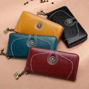 Women\'s Wallet Leather Ladies Long Cute Wallet Zipper Women\'s Wallet Clutch - DISCOUNT ITEM  20 OFF All Category