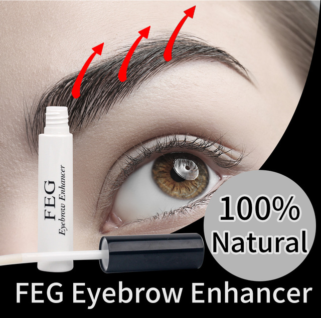 FEG Eyelash Growth Serum 100% Original Eyelash Growth Natural Lash Medicine Treatments Mascara Lengthening Longer Eyebrow Growth 3
