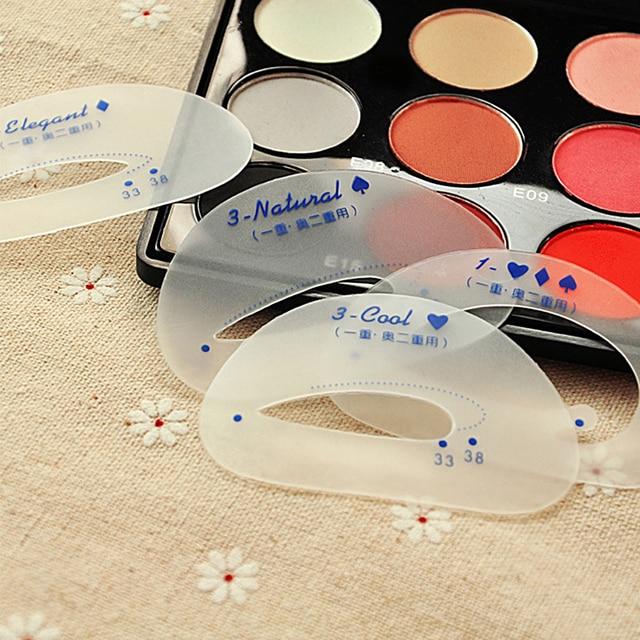 Eye Shadow Stencils Eyeshadow Models Eyeshadow Auxiliary Tools Tracing Shadow Card Draw The Eye Makeup Tools 3