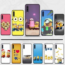 Despicable Me Minions Black TPU Soft Rubber Phone Cover For Samsung Galaxy A 3 6 7 8 10 20 30 40 50 70 71 10S 20S 30S 50S PLUS(China)
