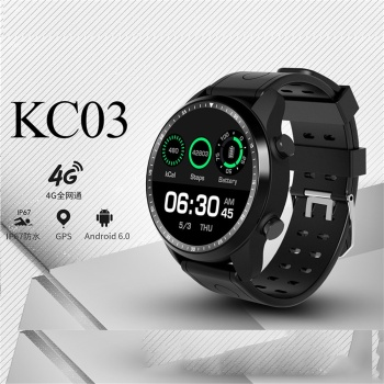 Smart Watch 4G IP67 Waterproof Smartwatch Wifi GPS 1GB+16GB Watch Support Whatsapp Facebook Youtube 2