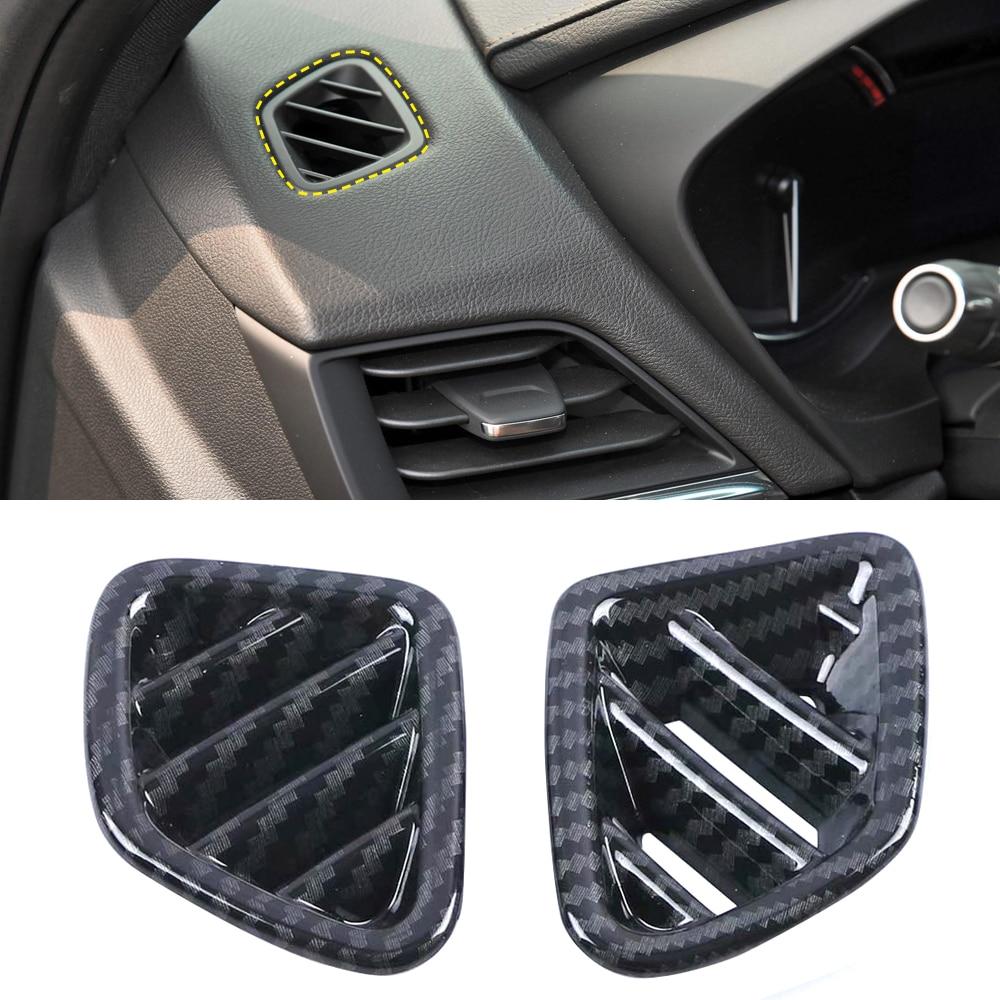 LHD! Для Cadillac CT4 2019 2020 аксессуары ABS интерьер приборной панели вентиляционное отверстие крышка выхода отделка стайлинга автомобиля