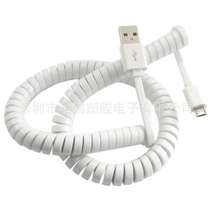 Image 5 - 3 Meter USB 2.0 Spring Coiled Cable Micro 5pin Male to Micro 5pin / Mini USB / USB A Male Charging Data Cable