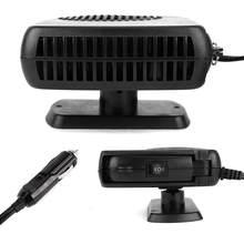 Desempañador automático de coche, de 12 V calentador eléctrico portátil, ventilador de calefacción rápida, desempañador, secador de coche de 24 voltios