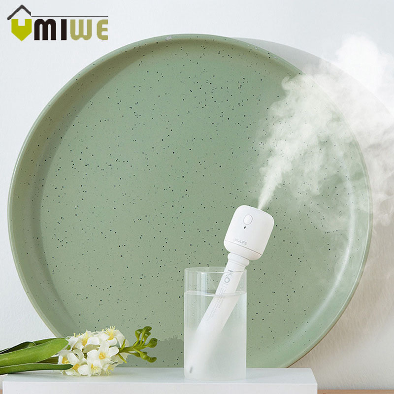 Dismountable USB Portable Mini Travel Humidifier Cool Mist Air Humidifier Aroma Diffuser for  Home Office without Water Bottle|Humidifiers| |  - title=