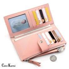 Catei Karrui New Ladies long wallet Korean version multi-car