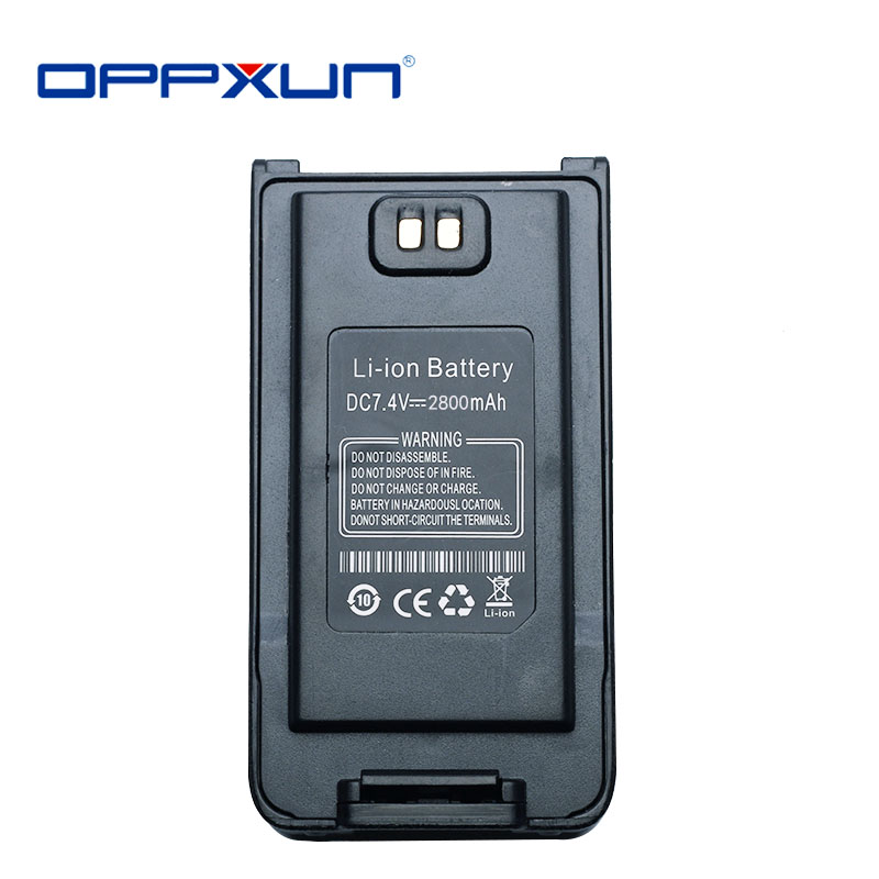 "OPPXUN Оригинальный аккумулятор для иди и болтай Walkie Talkie ""иди и Батарея UV-9R плюс Батарея uv9r плюс UV-9R"