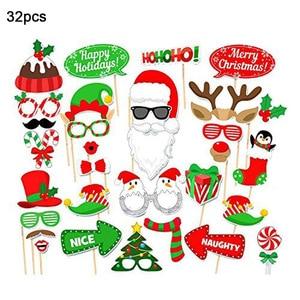 17 шт. бумажная Рождественская шляпа забавная интересная Вечеринка Реквизит для фотосъемки детские игрушки украшение