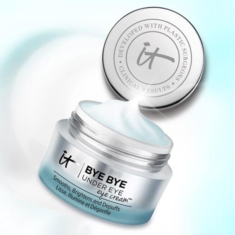 BYE BYE UNDER EYEs Eye Cream Moisturizing Makeup Base Cream Eyes Make Up Skin Brighten Eye Concealer It Cosmetics