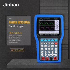 Image 5 - Handheld Digital Storage Oscilloscope Portable Oscilloscope tool 2019 Hot sale Jinhan JDS3051A JDS3072E JDS3082A  50M 70M 80MHz