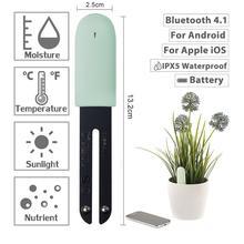 新国際版オリジナル花モニター植物土壌水分ライトスマートテスターのための植物相センサーガーデン