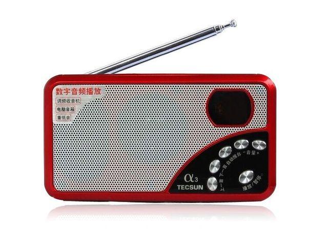 Радиоприемник TECSUN A3, FM, MP3, TF-Card 1