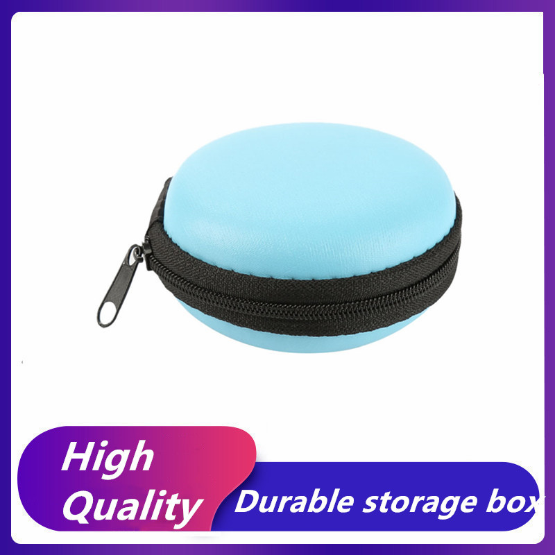 1Pc Earphone Case Storage Carrying Hard Bag Box For Earphone Headphone Earbuds Memory Card Mobile Phone Cases Bags