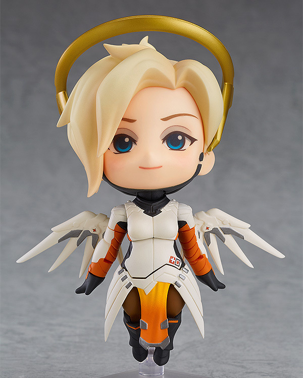 Very Hot and Cool Q Version Overwatch OW Angel Angela Classic Skin PVC Boxed Model Figure Toy for Friends or Children 1