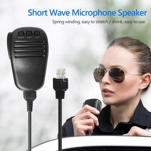 Image 5 - Handheld Microphone Speaker Short Wave For Yaesu FT 817 FT 857 FT897 FT 450 FT 891 FT 817ND Walkie Talkie Radio Mic