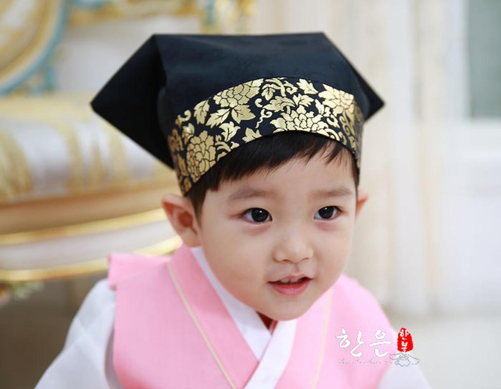 Korea Imported Hanbok Hat / Ancient Children's Scholar Hat / Boy Hat