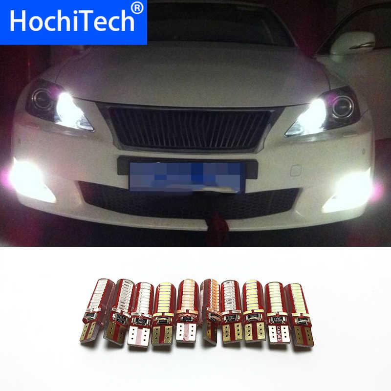 T10 194 W5W 1pc Car Auto LED Canbus 5630 SMD Luzes de Apuramento Para lexus rx300 rx330 rx350 is250 is200 gs300 lx470 lx570 gx47