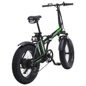 Image 4 - Electric bike 48v Electric bike  4.0 fat tire electric bike powerful fat tire ebike beach cruiser bike Booster bicycle electric