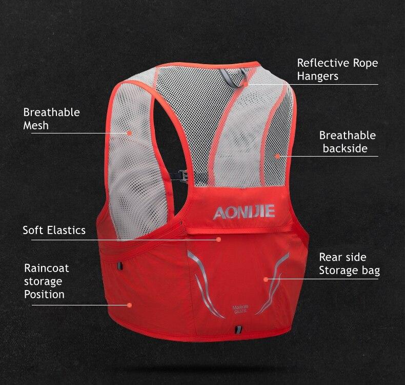 colete ultraleve de nylon para homens e