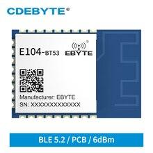 Wireless-Module EFR32BG22 Bluetooth CDEBYTE E104-BT53 6dbm Finding SMD Direction BT5.2