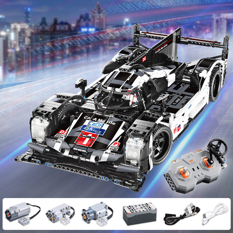 CADA Endurance RC Car Bricks Compatible For Legoingly Technic MOC Model Building Blocks Remote Control Car Racing Toys For Boys