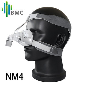 Image 4 - BMC NM2/NM4 Nasal Mask CPAP Mask Sleep Mask with Headgear S/M/L Different Size Suitable For CPAP Machine Connect Hose and Nose
