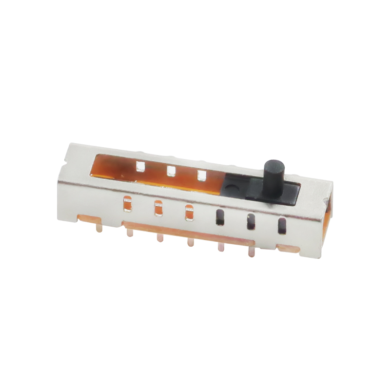 10 шт. SS-16F01 (1P6T) высота ручки 3mm8 восемь футов 6 6-Скоростной вертикальный прямой тумблер