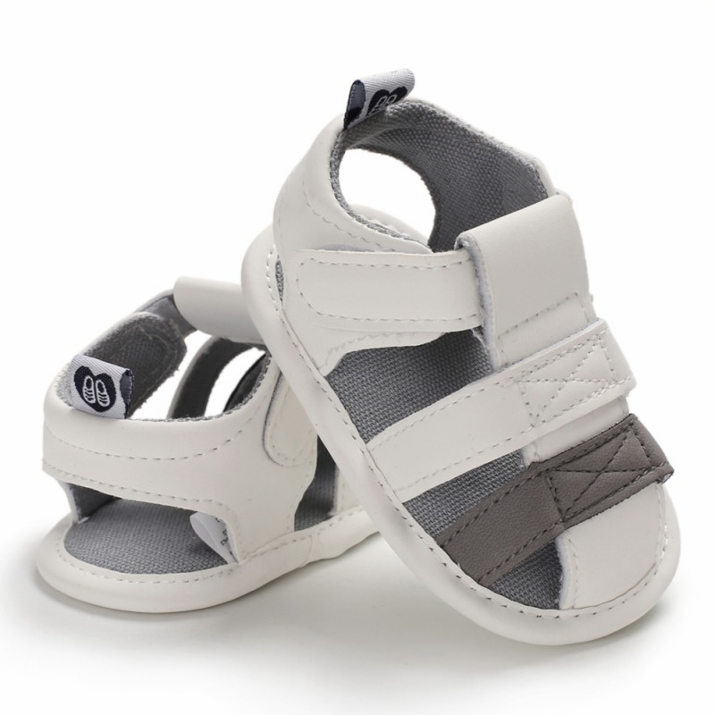 Summer Baby Boys Sandals Breathable Anti-Slip Mixed Color Shoes Sandals Toddler Boy Soft Soled First Walkers