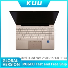 KUU Italian keyboard For Intel J4115 14.1-inch IPS Screen All Metal Shell Office Notebook 8GB RAM 512GB SSD with type C laptop
