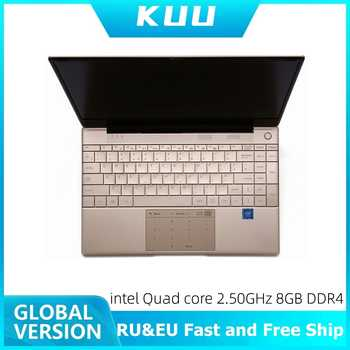 KUU Italian keyboard For Intel J4115 14.1-inch IPS Screen All Metal Shell Office Notebook 8GB RAM 512GB SSD with type C laptop - DISCOUNT ITEM  20 OFF Computer & Office