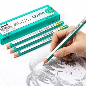 Image 2 - 10 חתיכות מיצובישי Uni עיפרון סוג מחק סופר מחק בינוני Ek 100 בית הספר ולמשרד