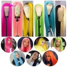 ALI Coco 150% Green Human Hair Wig Brazilian Remy Straight Y